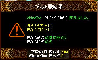 vs WhiteKiss