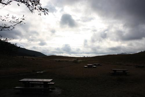 曇りの曽爾高原