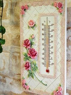 バラの温度計