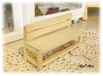 木工クラフト(ベンチ)