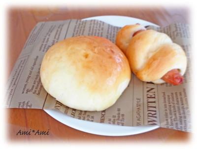 チーズパン&ウィンナーパン