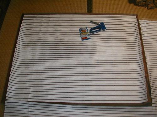 障子戸を紙から樹脂シートに変えてNG→通気遮光シートの変更2