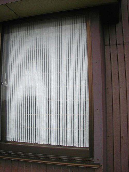 障子戸を紙から樹脂シートに変えてNG→通気遮光シートの変更5