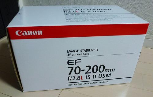 EF70-200mm箱
