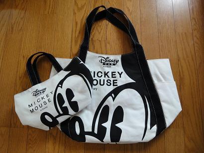 ディズニーファンのバッグ