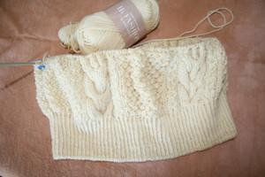 アラン編み