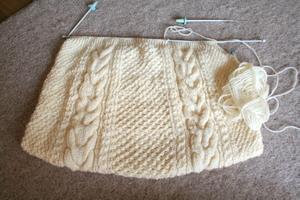 アラン編み2