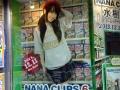 NANA CLIPS 6 アニメイト秋葉原店 店頭ショーケース3