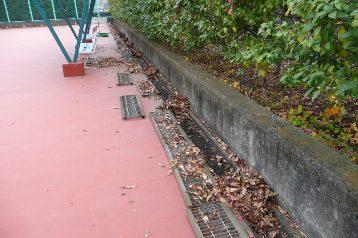 20141204側溝清掃(テニスコート) (1)