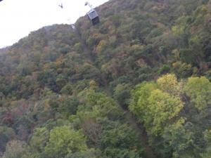 131014藻岩山ロープウエイ