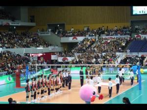 20111113WCバレーボールvsブラジル