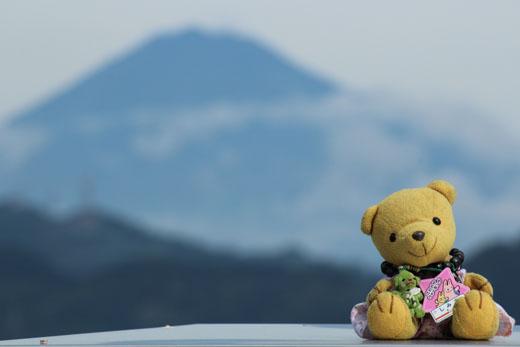 富士山とくま 111020