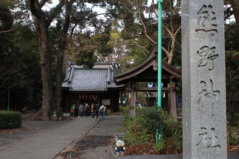 熊野神社で 120101