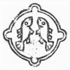 飾り輪の中に対い鯉(須藤氏)