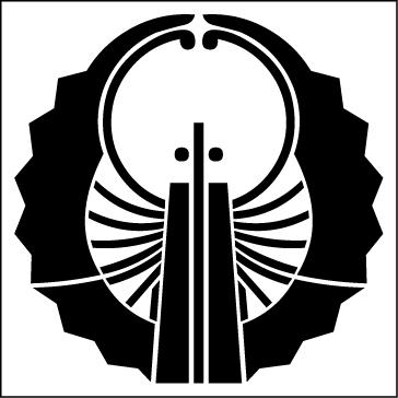 浮線扇(反転)