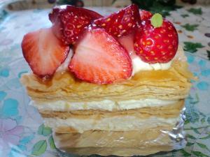 2011.05 苺のミルフィーユ