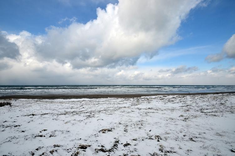 冬の海岸-1