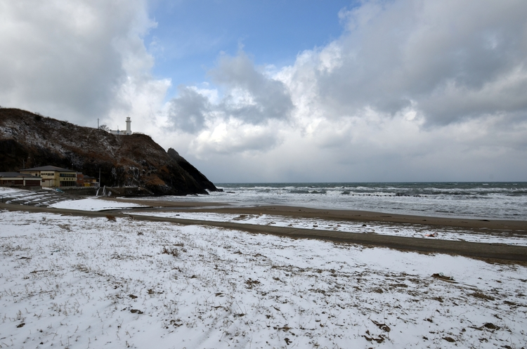 冬の海岸-2
