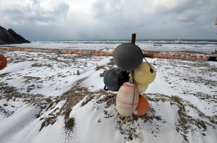 冬の海岸-3