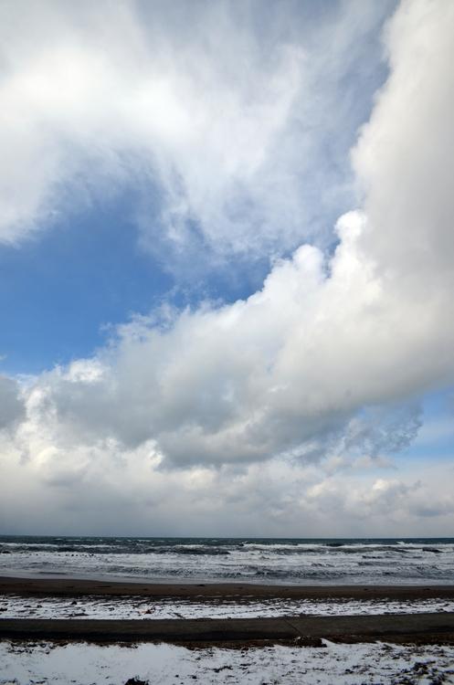 冬の海岸-4