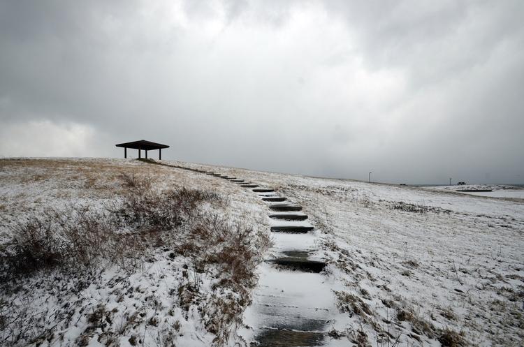 今日の雪景色Ⅱ-1