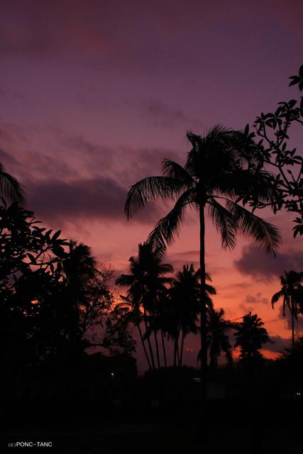 バリ島の夕日 2