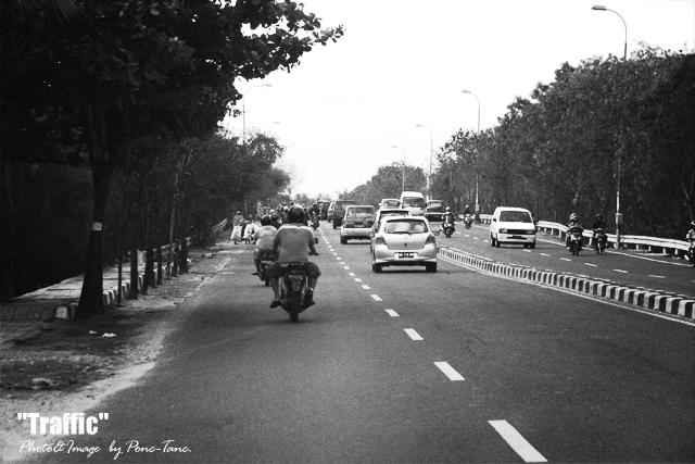 traffic bali