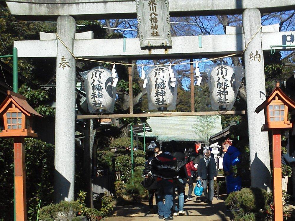 F1001218新倉氷川八幡神社1月2日