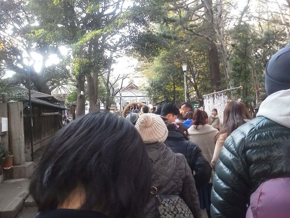 F1001278常盤台天祖神社1月3日