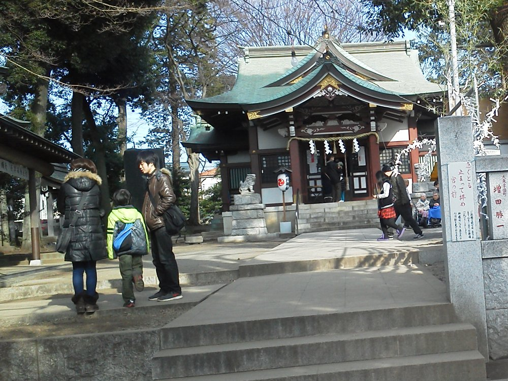 F1001259大泉氷川神社1月3日