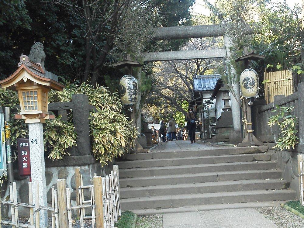 F1001275常盤台天祖神社1月3日