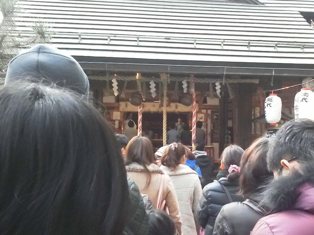 F1001281常盤台天祖神社1月3日