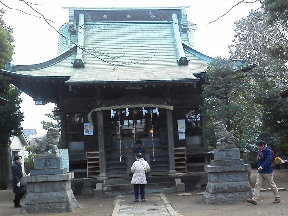 F1001282野火止氷川神社1月4日