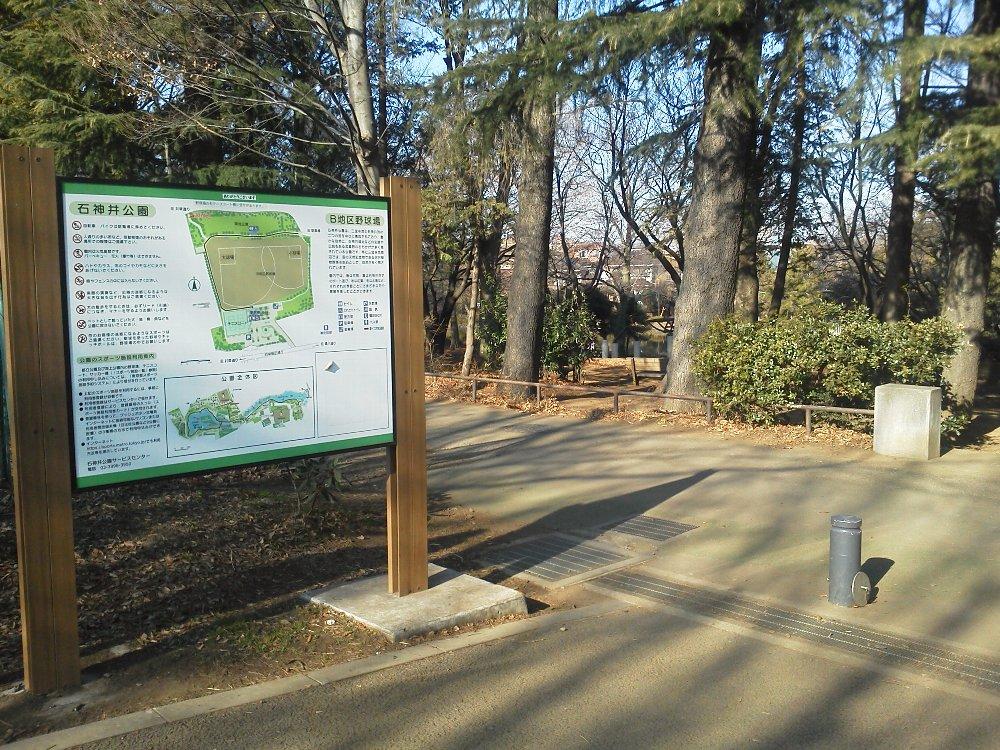 F1001368石神井公園B地区野球場