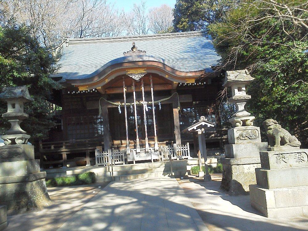 F1001387石神井公園氷川神社