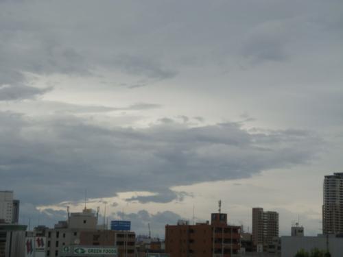 9/3遅い台風