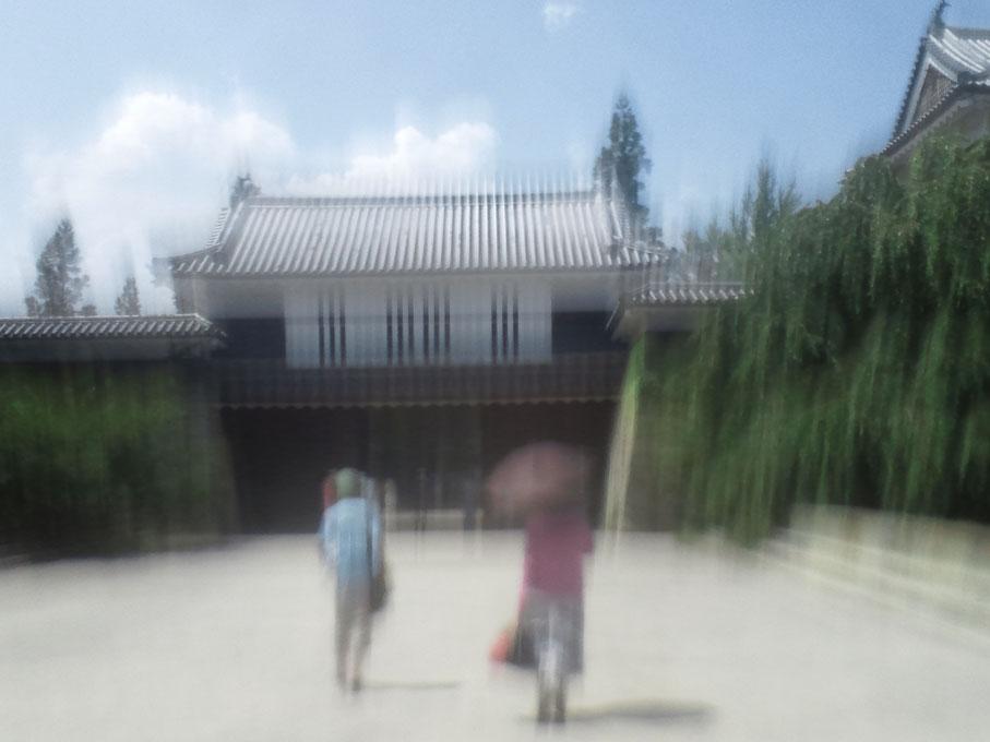 上田城門2