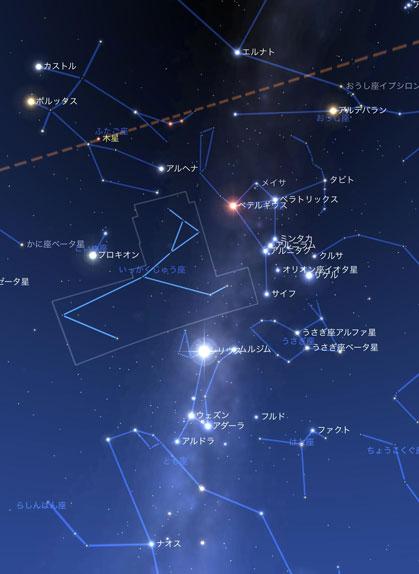 20131227の夜空