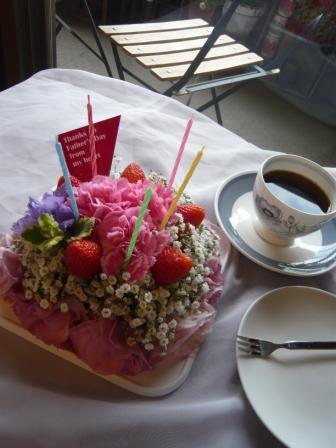 2011.6梅雨にピッタリの贈り物♪お花のケーキp6