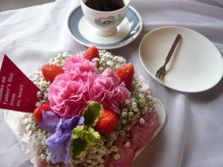 2011.6梅雨にピッタリの贈り物♪お花のケーキp2