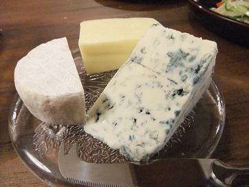 チーズ三種