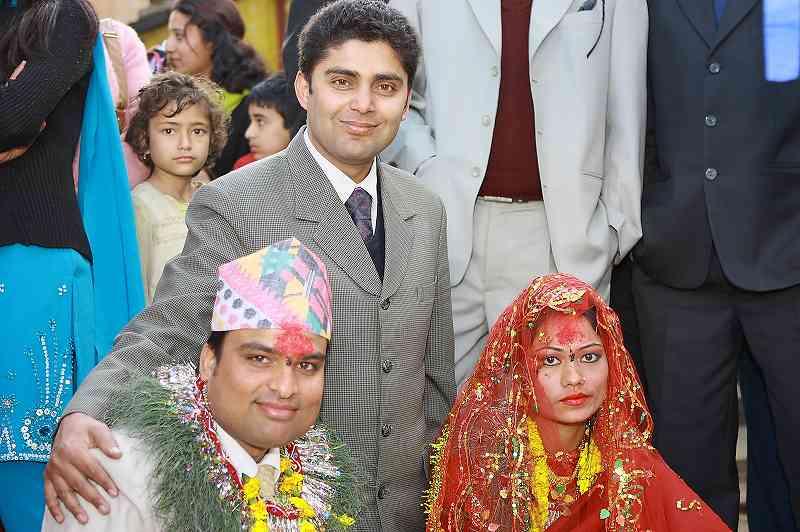 ネパールの結婚式