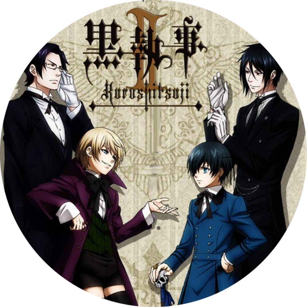 (自作DVDラベル) 黒執事Ⅱ