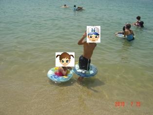 片男波海水浴場③