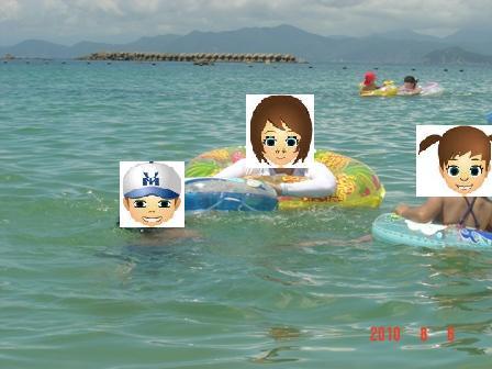 御座白浜海水浴場②