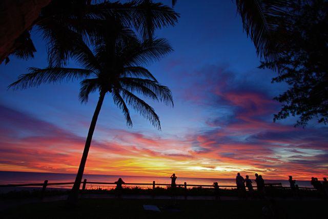 5:4ケーブルビーチ夕日