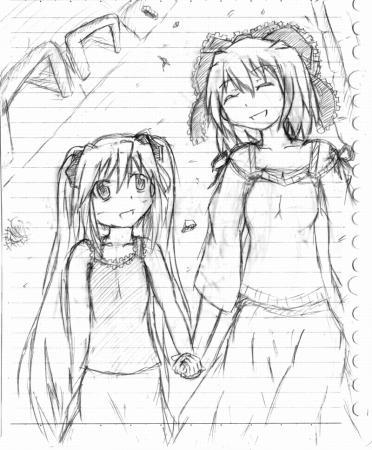 aria&lilia下書き