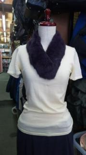 ファー(紫)