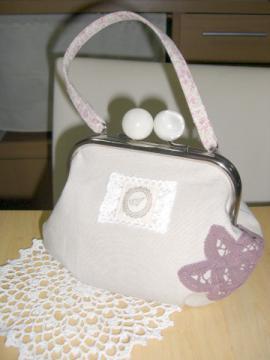 candyがま口ハンドバッグ 1