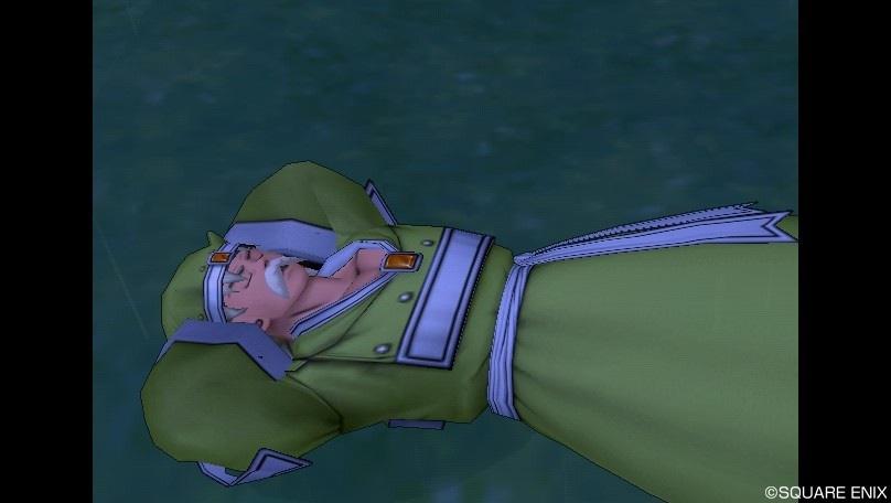 眠るエテーネのバルジャン